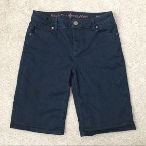 Vera Wang boyfriend shorts